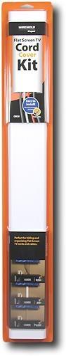 Wiremold - Flat-Screen TV Cord Cover Kit - White - CMK30 - Best Buy
