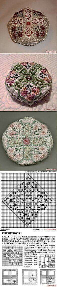 Beautiful needlework pincushions                              …