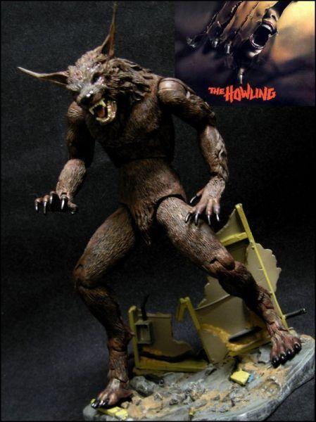 Werewolf The Howling   Werewolf (the Howling Movie) Custom Action Figure