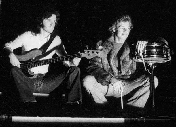 John Wetton and Bill Bruford