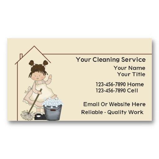 20 Best Images About House Cleaning Business Cards On