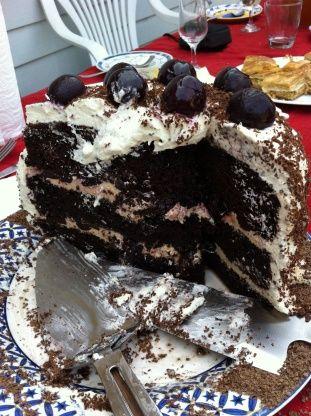 Schwarzwald Kirsch Kuchen