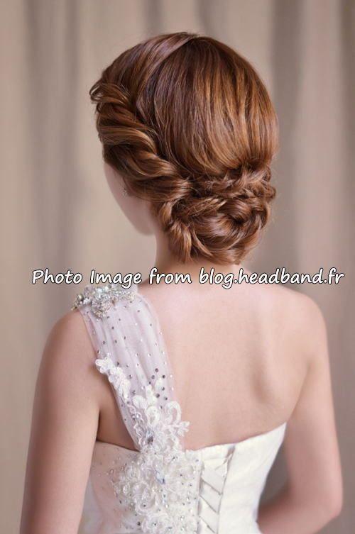 ウェディングヘアスタイルアイデア