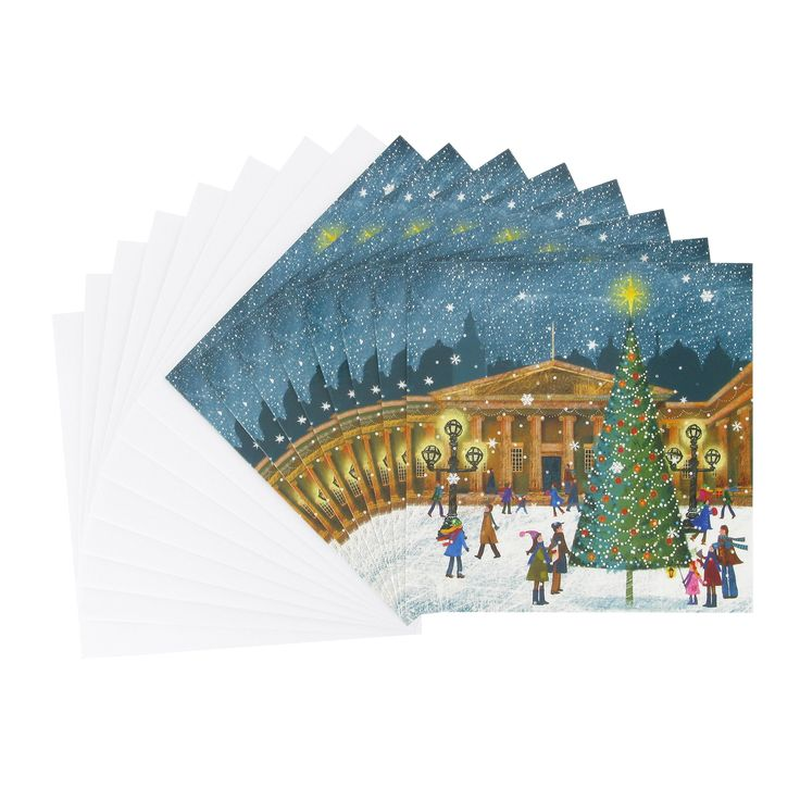Tree in the Snow Christmas cards (British Museum exclusive) at British Museum shop online