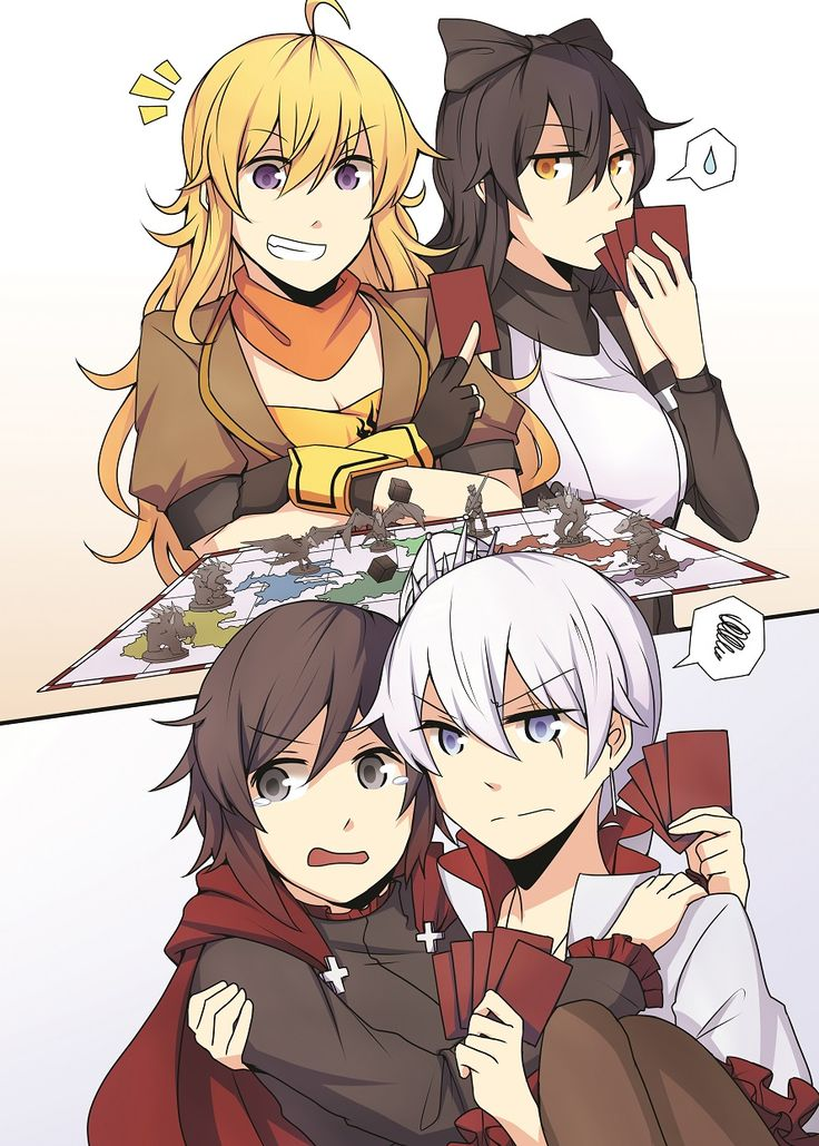 RWBY art by Xenon #notp ^-^
