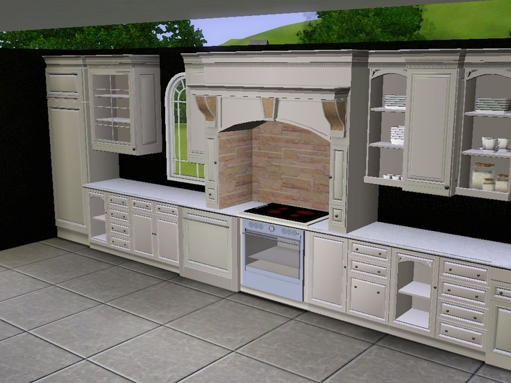 1000 ideas about sims 3 on pinterest sims 2 sims house for Sims 3 kitchen designs