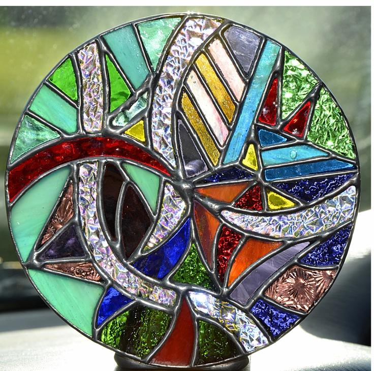 kaliedoscope stained glass