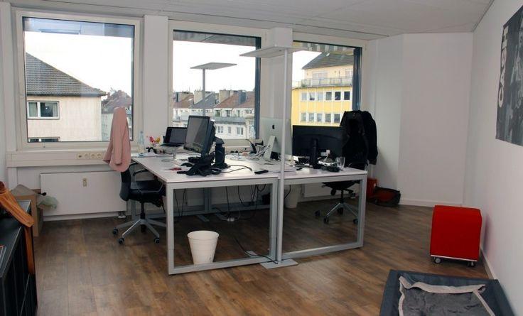 Schöne moderne Büroräume im Zentrum von Düsseldorf #Büro, #Bürogemeinschaft, #Office, #Coworking, #Dusseldorf, #Düsseldorf