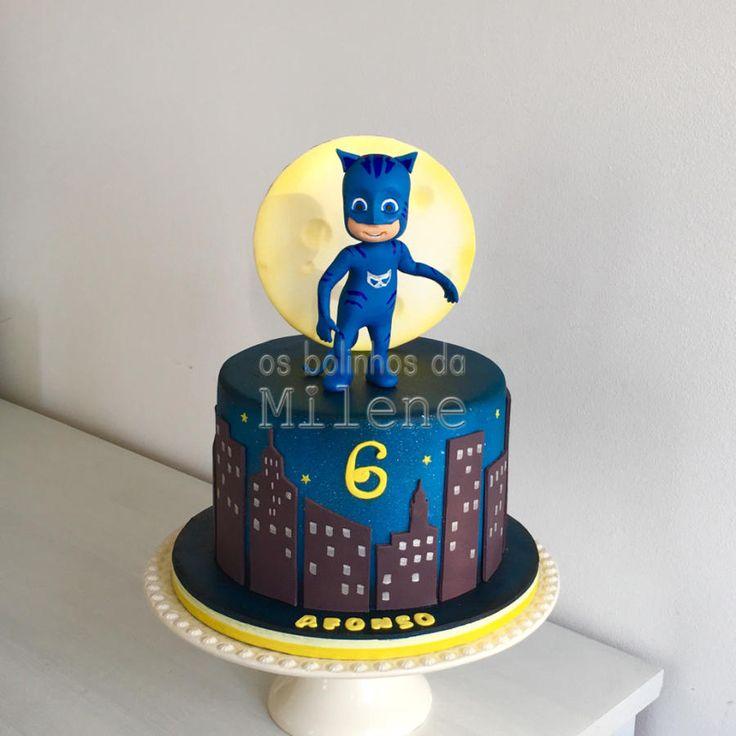 Pj masks - Cat Boy - Cake by Milene Habib