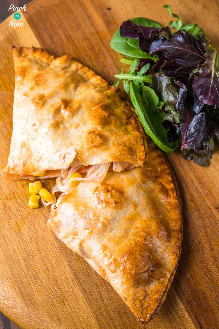 Syn Free chicken and sweetcorn pizza calzone - steps   Slimming World-7