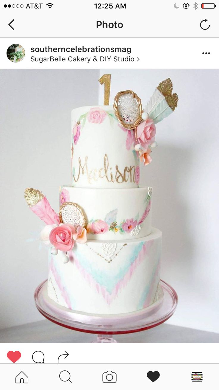 Dream catcher cake