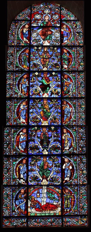 Árbol de Jesé - Catedral de Chartres