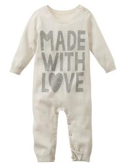 Love sweater one-piece -- Shop online at Baby Gap through Zoola and get cash back!