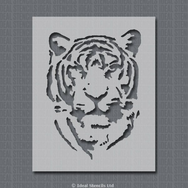Craft Stencil Card making Tiger Stencil Animal Stencil Airbrush