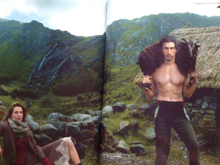 Recognize this man? Yes, it's Girls' Adam Driver and he's in Vogue's September issue!