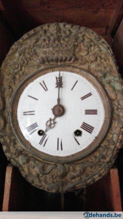 Gebruikt: oude klok (Klokken & Wekkers) - Te koop in De Panne