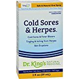 #Health King Bio Homeopathic Cold Sores and Herpes Reliever  2 fl oz (Pack of 2)