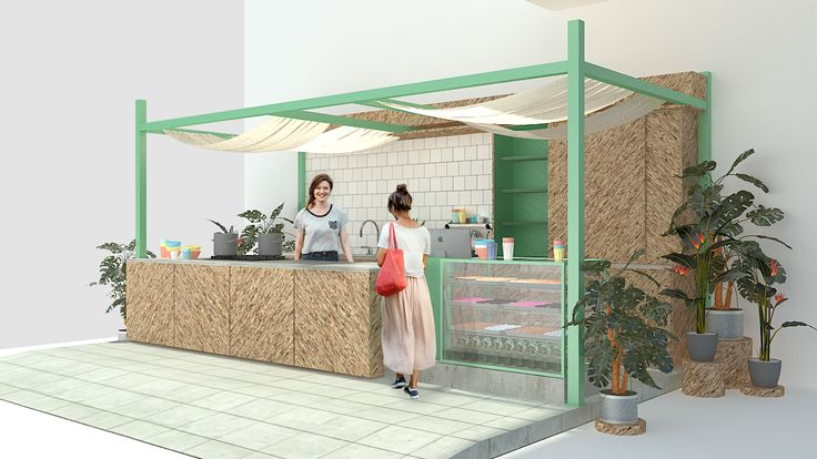 Pop Up Kitchen on Behance by Carve Design Studio. A quick and movable pop up store!
