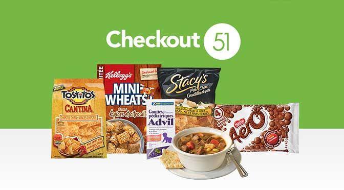 Voici les dernières offres Checkout51 en vigueur présentement...