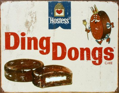 Ding Dongs - that's right, they weren't called King Dons back then....at least not where I came from! ;)