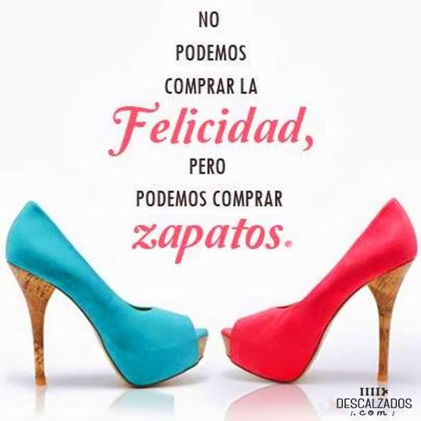 """No podemos comprar la felicidad pero podemos comprar zapatos"" http://www.guiapurpura.com.ar/descalzados"