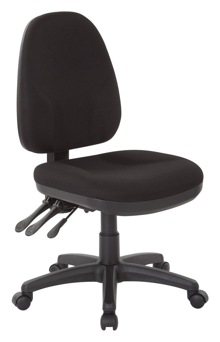 Knoll life chair geek - Office Star Black Dual Function Ergonomic Chair