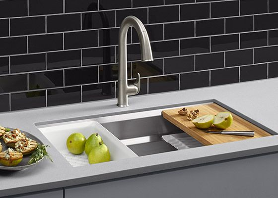 11 best cocina chic images on pinterest kitchen faucets kitchen taps and kitchens for Blackman plumbing bathroom faucets