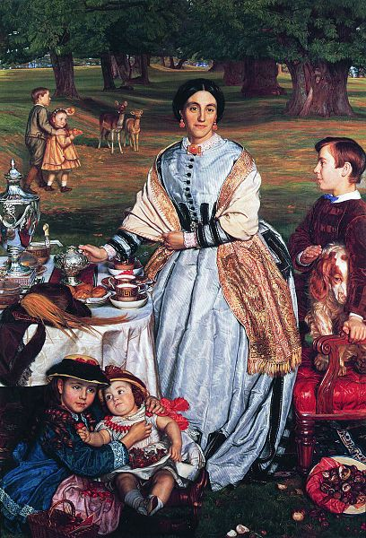 William Holman Hunt - The Children's Holiday