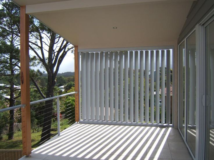 Vertical Aluminium Shutters Google Search Back Deck