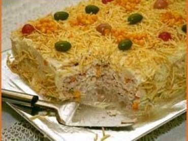 Receita de Torta Salgada Deliciosa - Tudo Gostoso