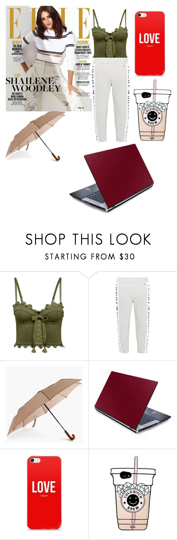 """Осенняя одежда"" by princessa-383 ❤ liked on Polyvore featuring Puma, Tommy Hilfiger and ShedRain"