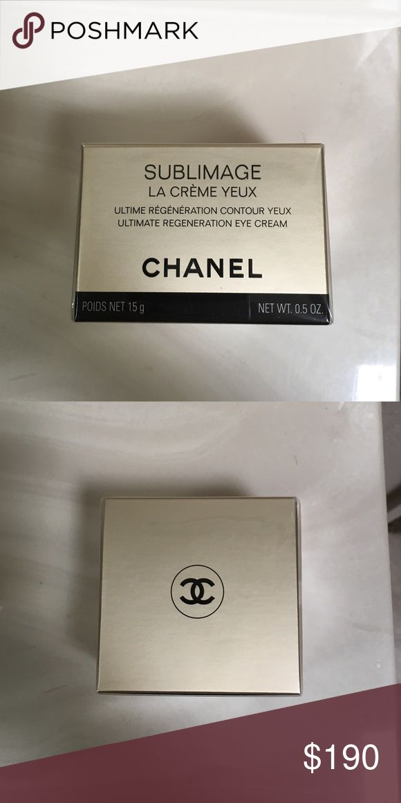 Chanel Sublimage La Creme Yeux New in box never used Chanel Sublimage eye creme. 0.5 oz. CHANEL Other
