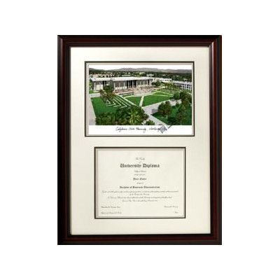Campus Images NCAA California State University, Northridge Scholar Diploma Picture Frame