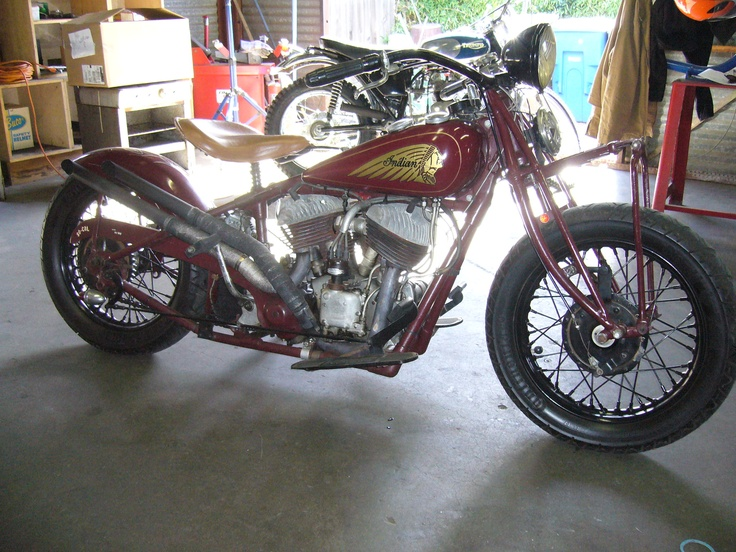 Indian Chief 1936 Frame 1946 Motor One Of My Best Running