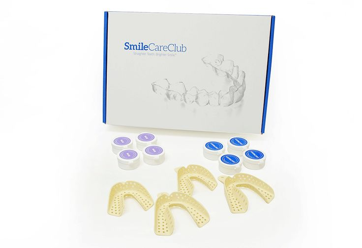At-Home Teeth Straightening Invisible Aligner System - From SmileCareClub @ Sharper Image