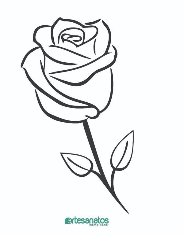 Desenhos De Rosas Para Imprimir Tatoo Realistas Pintura Em