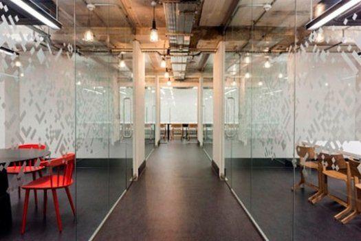 Oooh, aaaah. Google's Co-Working Space In London.