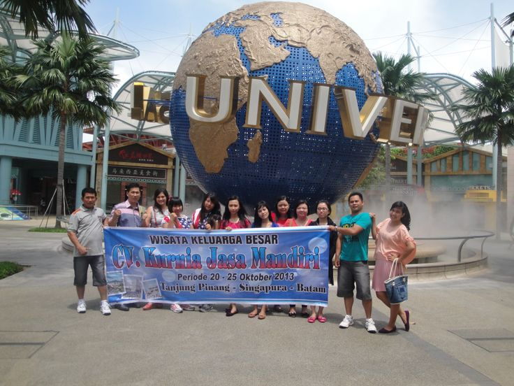 Liburan @Universal Studios 100th Studio Singapore