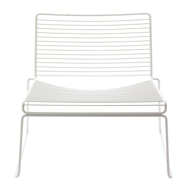 Hee lounge chair, white
