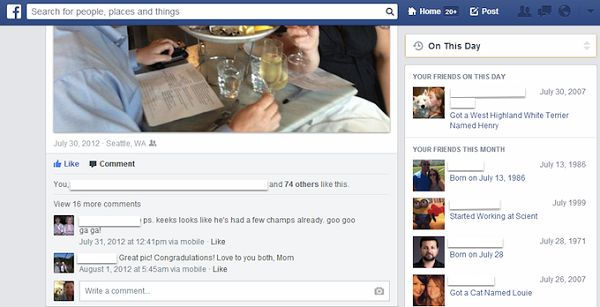 Facebook's new feature lets you travel back in time