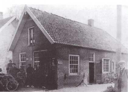 Smederij van Jansen Smit.in Vriezenveen.