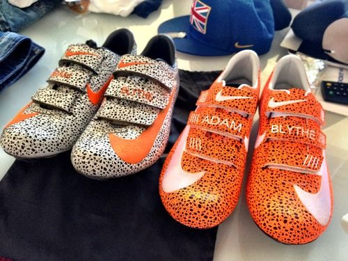 Adam Blythe Nike Custom Cycling Shoes