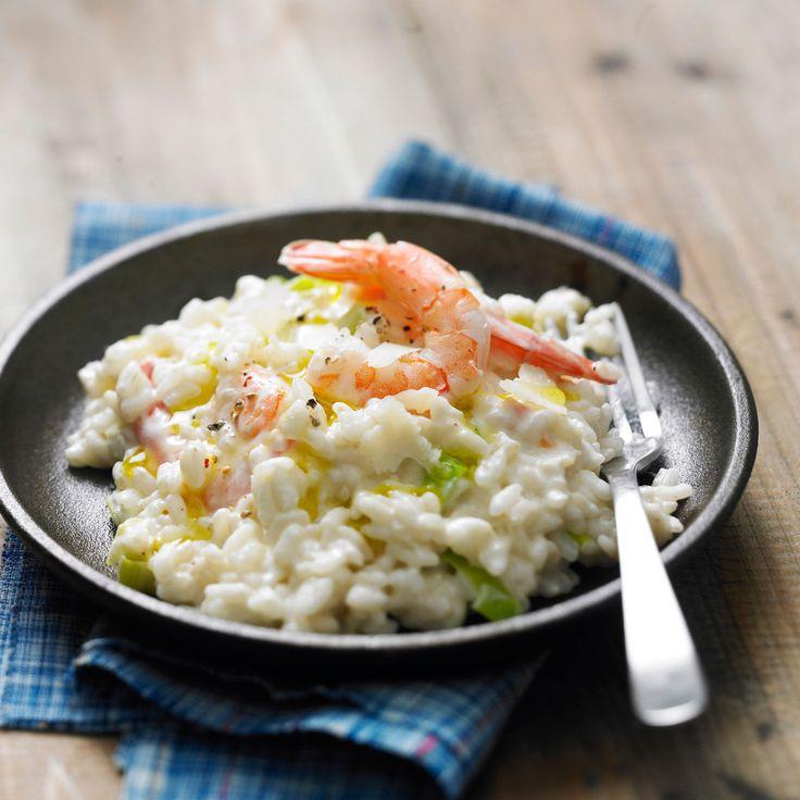 Découvrez la recette du risotto aux crevettes