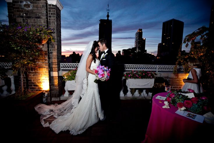 Def Need A Photo Like This On The Terrace Of Our Reception Site Wedding Venue With Rooftop Garden Fifth Avenue NYC