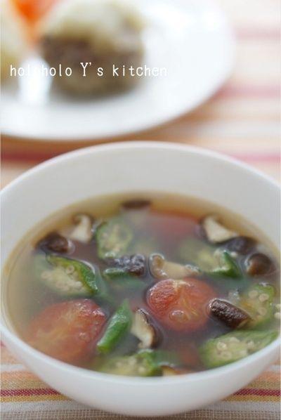 トマトとオクラのガンボ風スープ by ユッキー*さん | レシピブログ ...