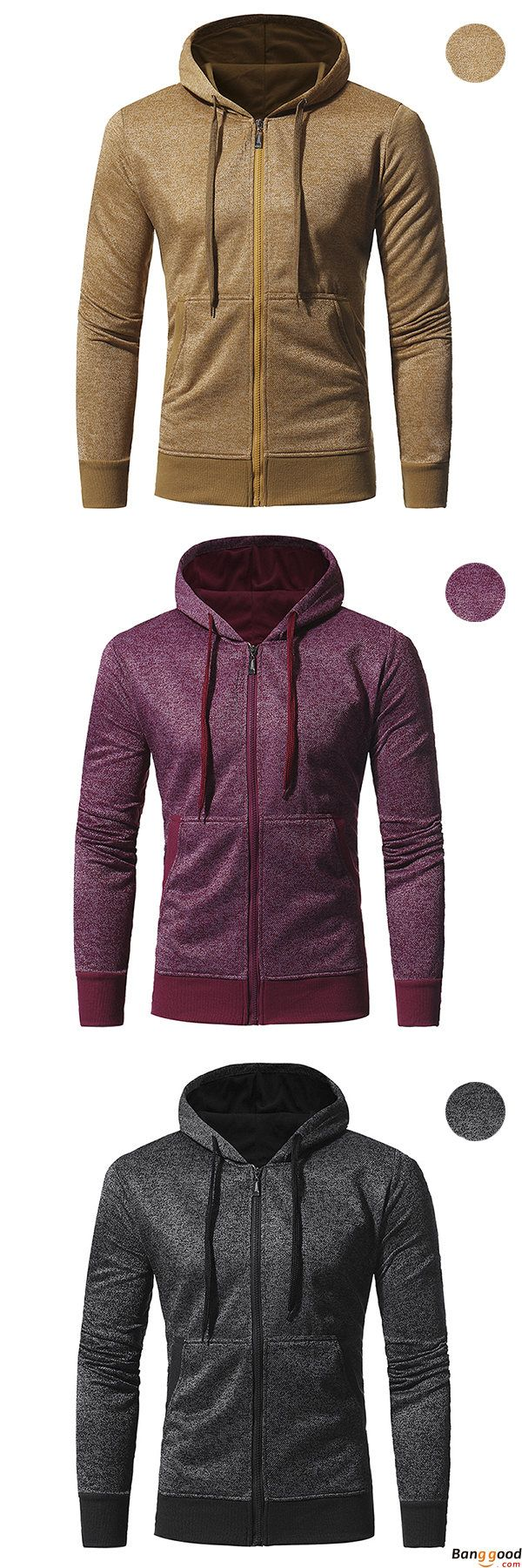 US$32.12 + Free Shipping. Men's Casual Fashion Snowflake Cloth Slim Fit Sport Hoodies Long Sleeve Sport Zipper Sweater. US Size: S - XL. Color: Yellow, Black, Red wine. >>> To View Further, Visit Now.