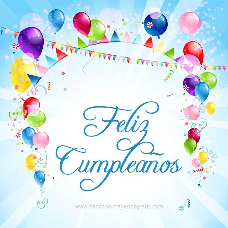 17 best images about feliz cumpleanos on pinterest salud - Tarjeta de cumpleanos ...