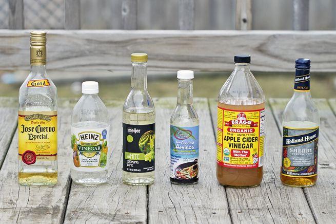 DIY glass spray bottles