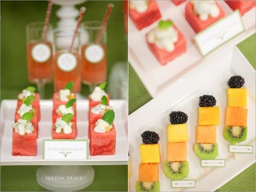 Veggie/Fruit Bar