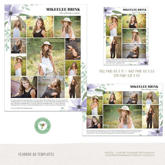 25 best ideas about senior ads on pinterest senior for Free yearbook ad template